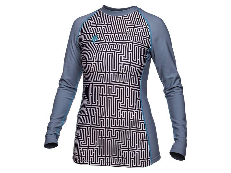 Bluza damska termoaktywna Majesty Shelter Lady Maze 2018 najlepsza cena