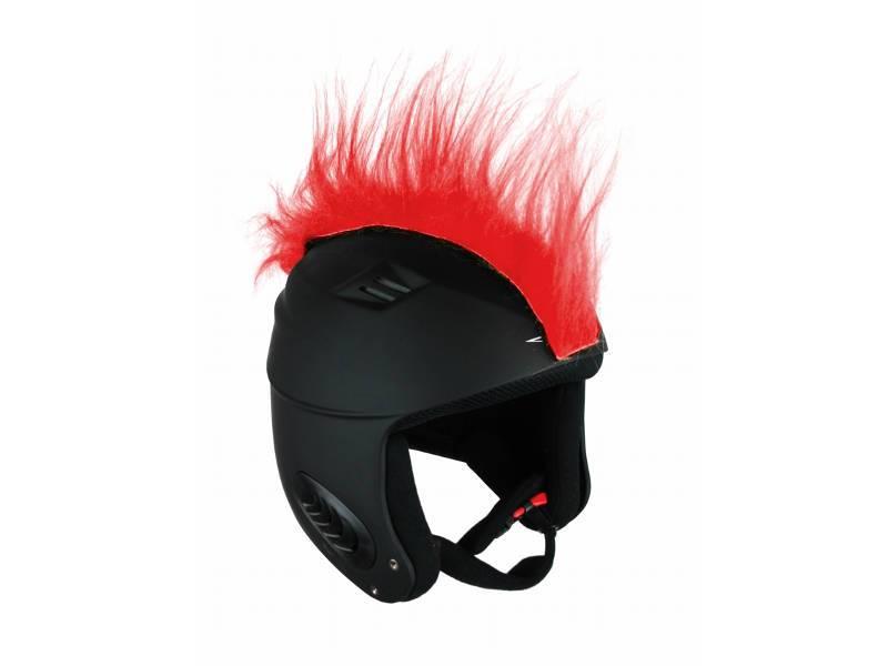 Włosy na kask - Ski Fix - Punk Red 2018 najlepsza cena