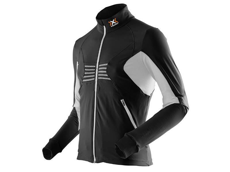 Bluza termoaktywna z długim zamkiem X-Bionic Racoon FULL ZIP UPD Black White B119 2019 najlepsza cena