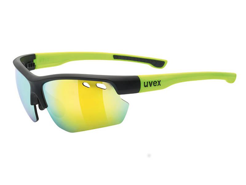 Okulary Uvex Sportstyle 115 Black Mat Yellow najlepsza cena