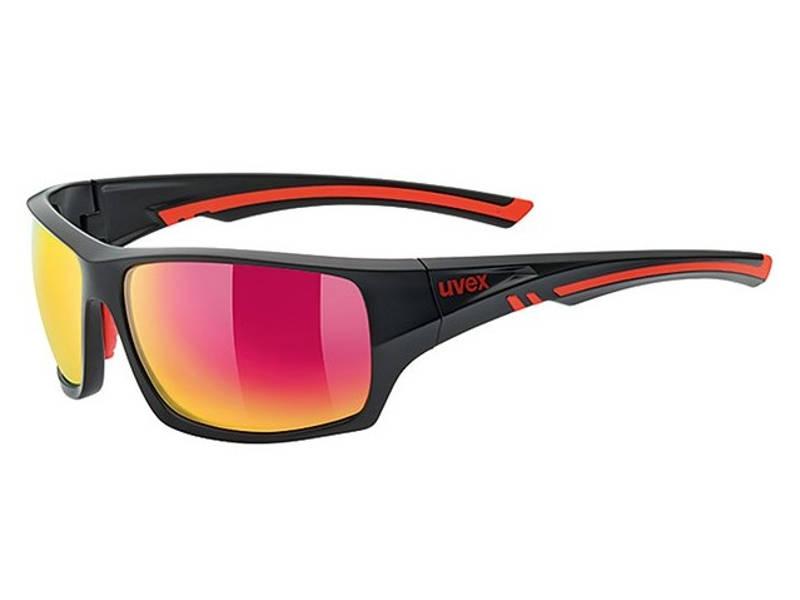 Okulary Uvex Sportstyle 222 Black Mat Red Polaryzacja najlepsza cena