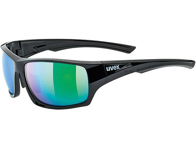 Okulary Uvex Sportstyle 222 Black Green Polaryzacja najlepsza cena