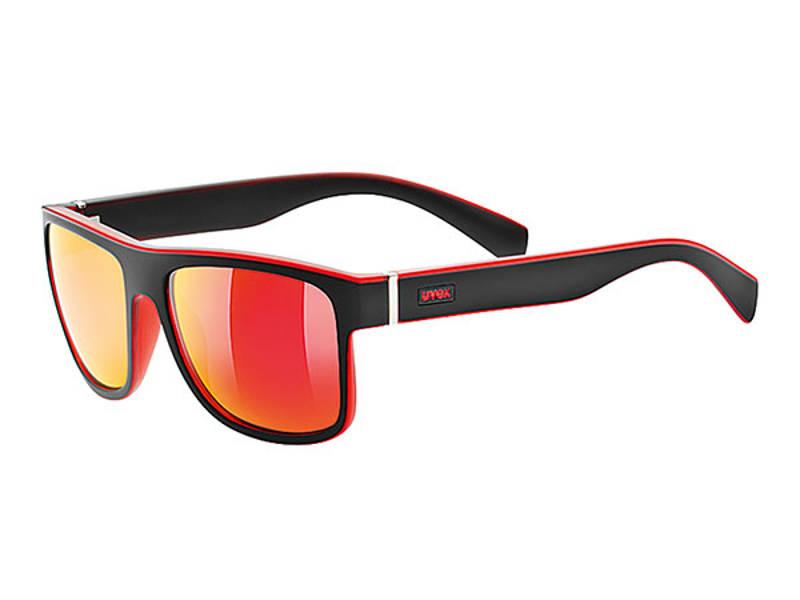 Okulary Uvex Lgl 21 Black Mat Red najlepsza cena
