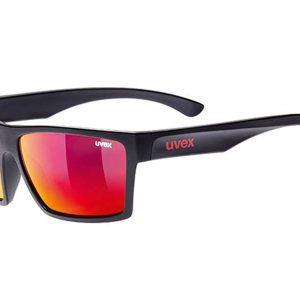 Okulary Uvex Lgl 29 Black Mat Mirror Red najlepsza cena