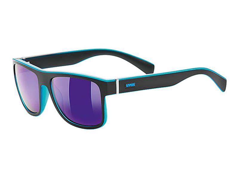 Okulary Uvex Lgl 21 Black Mat Blue najlepsza cena