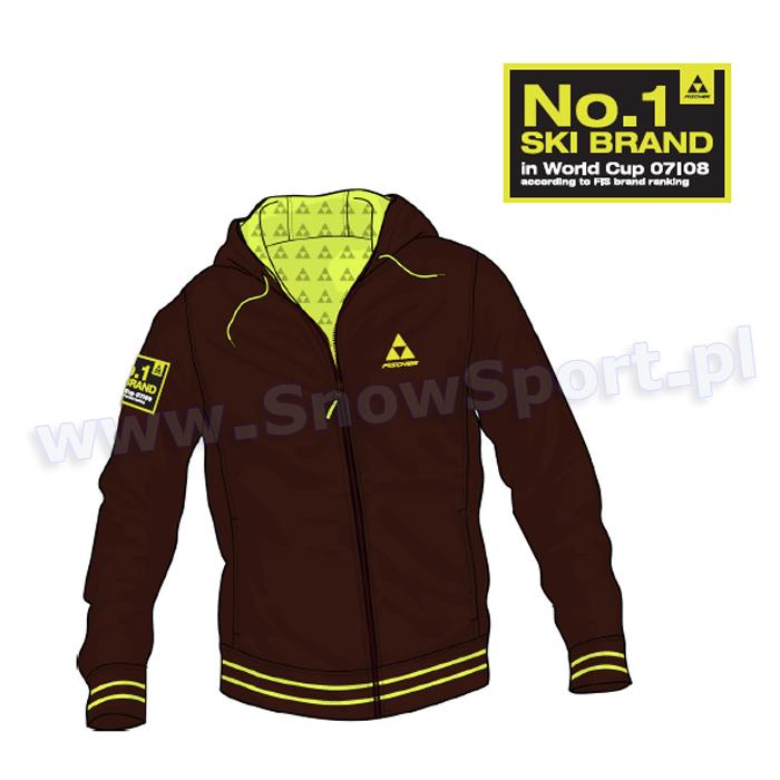 Bluza z kapturem FISCHER Number ONE 2010 najlepsza cena