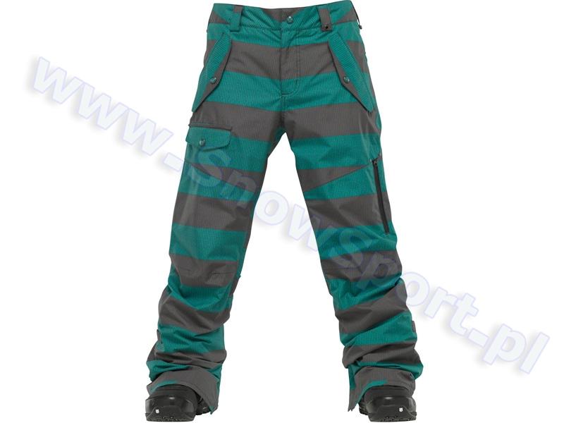 Spodnie Burton Indecent Exposure Pant / Siren Sweater Stripes 2012 najlepsza cena