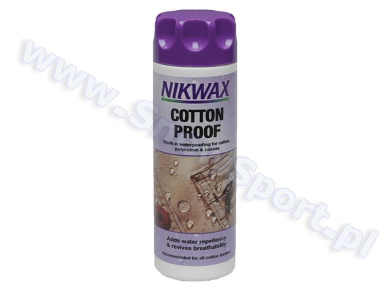 Impregnat do bawełny Nikwax Cotton Proof 2012 najlepsza cena
