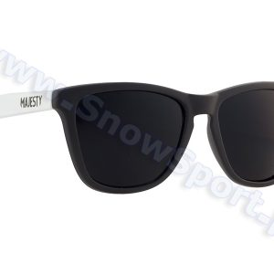 Okulary Majesty Shades M+ Black White / Black Lenses 2017 najlepsza cena