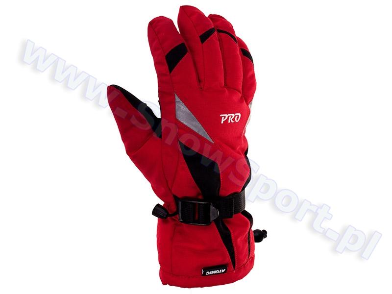 Rękawice Atomic Pro Red  2011 / 2012 najlepsza cena