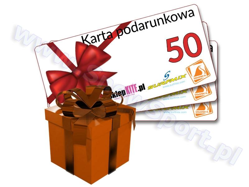 Karta Podarunkowa Bon Voucher 50 najlepsza cena