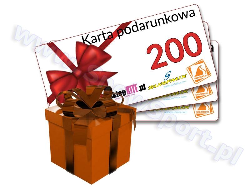 Karta Podarunkowa Bon Voucher 200 najlepsza cena