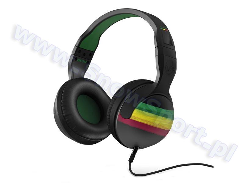 Słuchawki SkullCandy HESH 2.0 Rasta  S6HSDZ-058 najlepsza cena