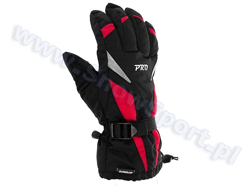 Rękawice Atomic Pro Black/Red 2011 / 2012 najlepsza cena