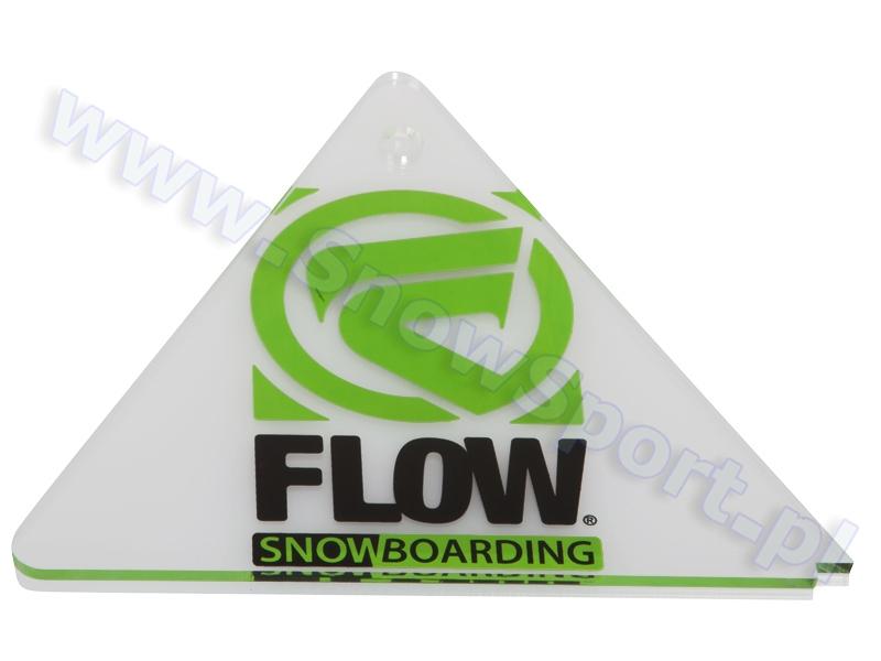 Cyklina snowboardowa plexi Flow Delta Scrapper 2013 najlepsza cena